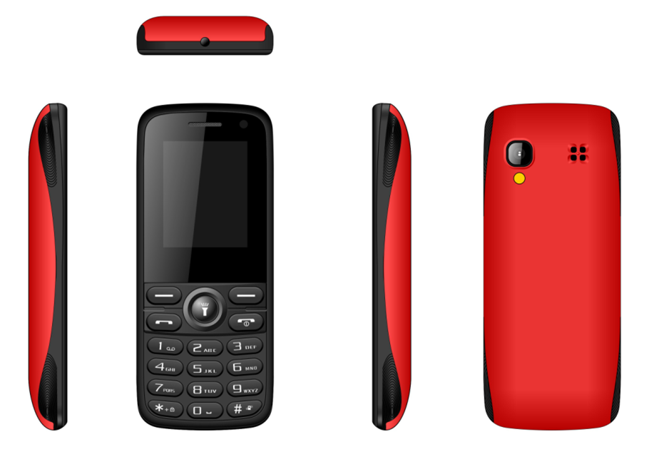 1.77inch feature phone with 0.08MP camera 64MB+128MB memory