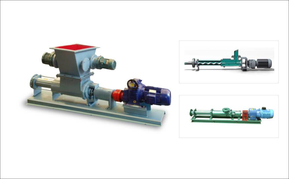 Industrial Use Screw Pump For Fruit Pulp Transport