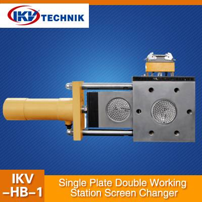 Single Plate Double Working Station Screen Changer