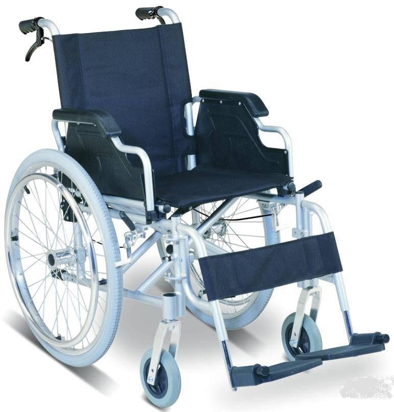 Lightweight Foldable Reclining Aluminum Manual Wheelchair