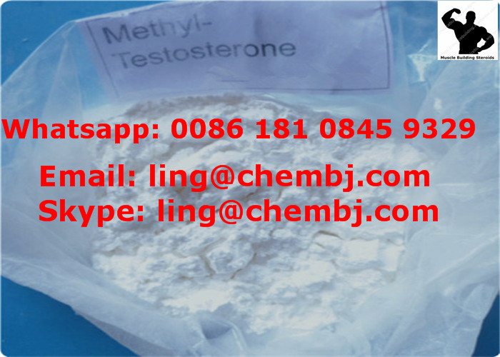 17 Methyltestosterone CAS 58-18-4 For Tilapia , Build Muscle Steroids