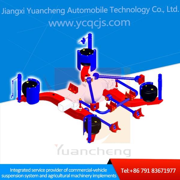 Customized Low Floor Bus Air Bag Suspension Systems