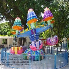 Kids'favourite !!! Amusement park equipment Happy Jellyfish for sale!!!