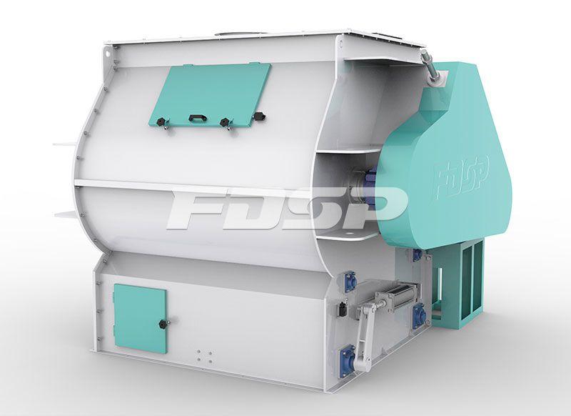 CE Certificated SHSJ Series Double Shaft High Efficiency Mixer
