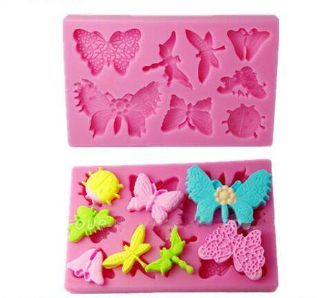 High quality insets silicone molds for cake decorating