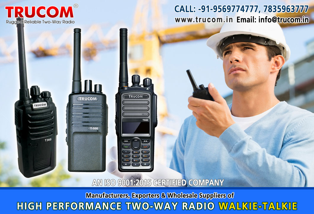 Walkie Talkie for Industrial Use in India