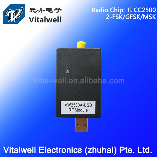 VW2500A 2.4GHz ir receiver usb module