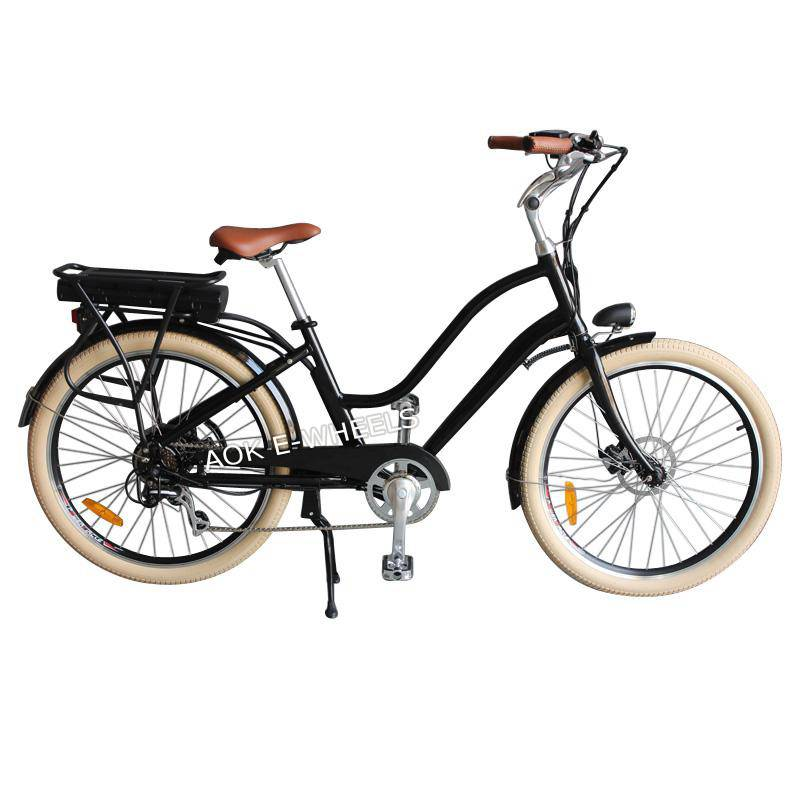 "26"" City Electric Bicycle with Disk Brake (TDE-036S)"