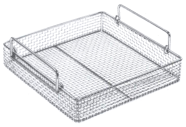 weaving wire sterilizing baskets  u0026 trays