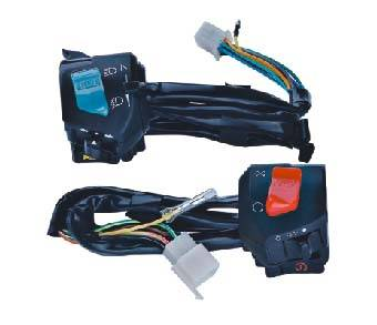 motorcycle handle switch set assy