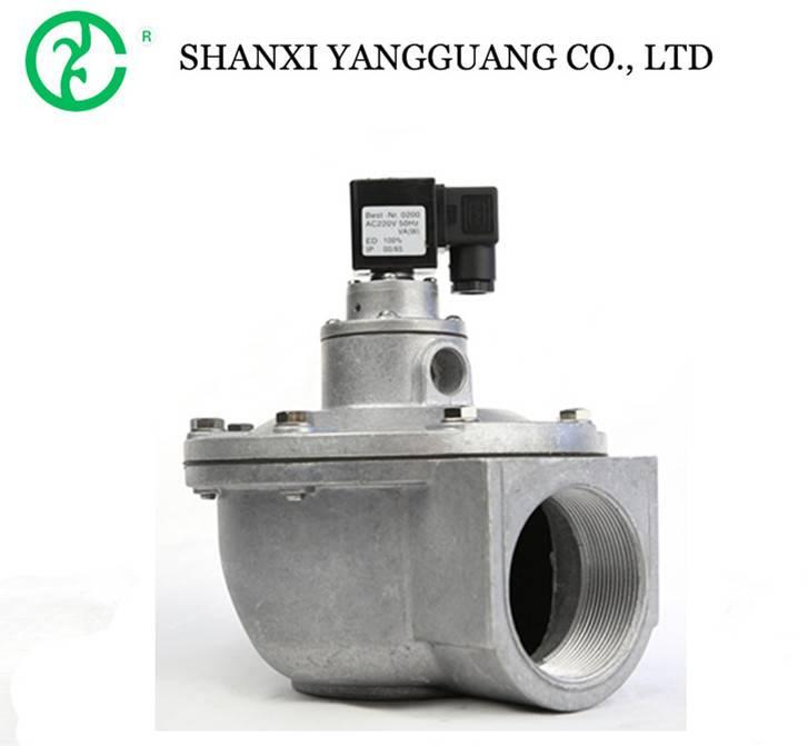 Pneumatic hydraulic solenoid aluminum angle valve 24v air