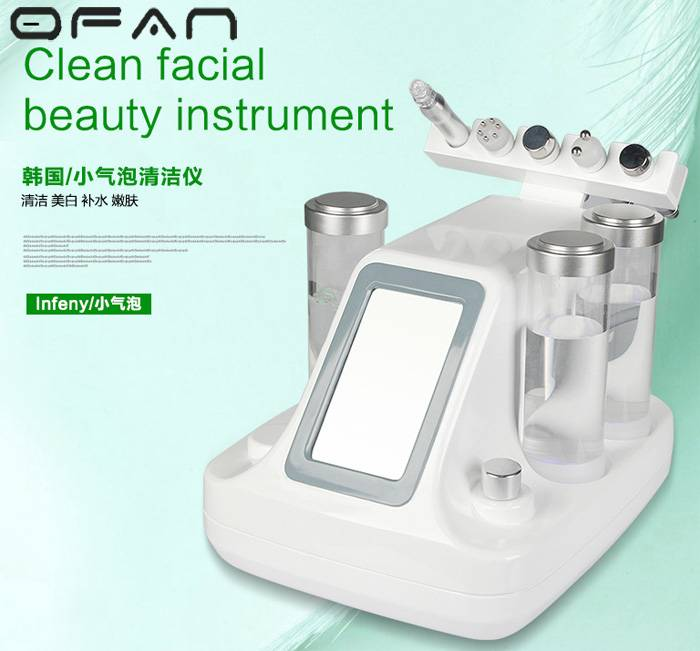 Small Bubbles Water Facial Cleansing Machine Whitening Tightening Wrinkle Removal Beauty
