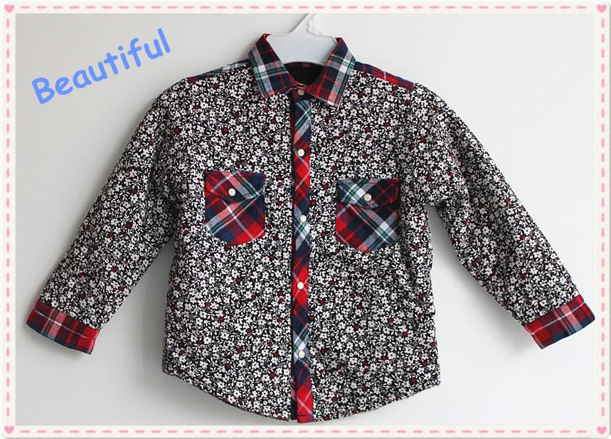 Hot sale 2016 new brand fancy casual shirt for girl