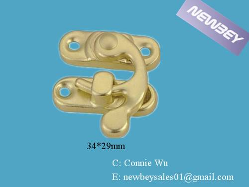 Brass Catches for Wooden Jewerly Boxes BL204