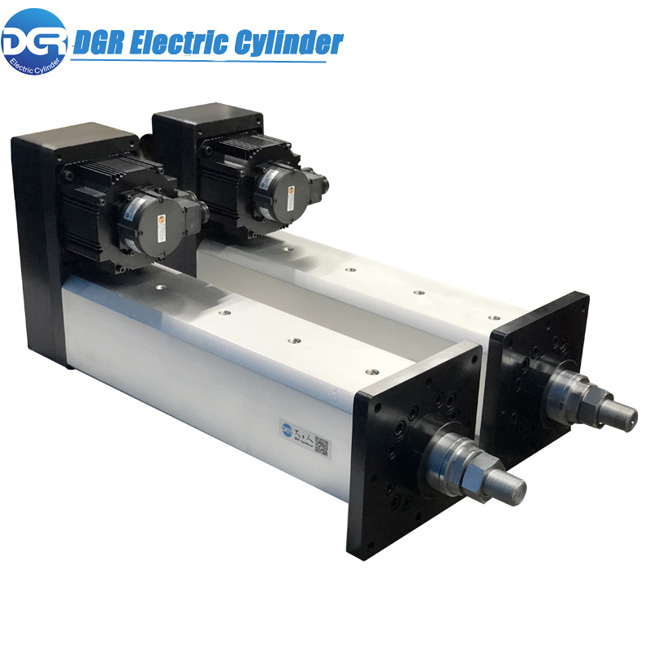 Low Cost Electric Linear Actuator With Compact Structure For Racing Car Simulator