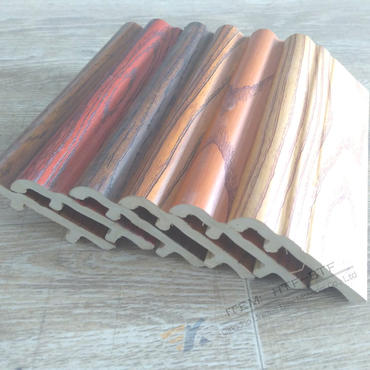 Skirting Board Applied Transfer Printing Hot Stamping Foil For WPC Wood plastic PVC MDF