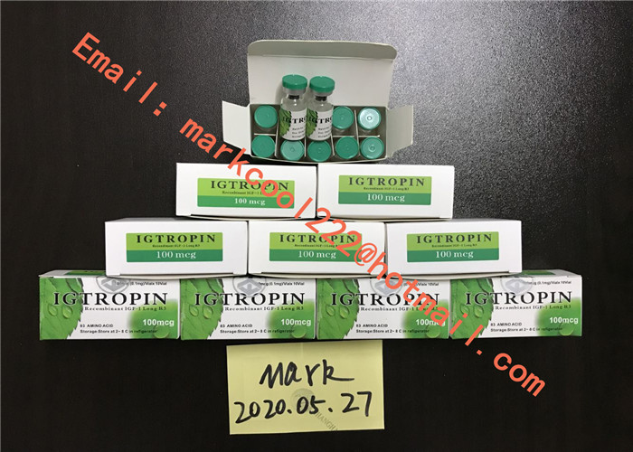 Legal Hgh Igtropin 99 . 8% Purity White Powder Form For Weight Loss