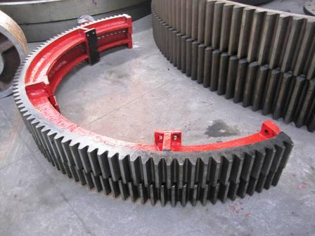 5300mm diameter of the large mill gear