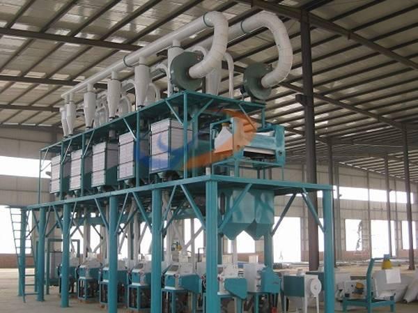 wheat powdering machine