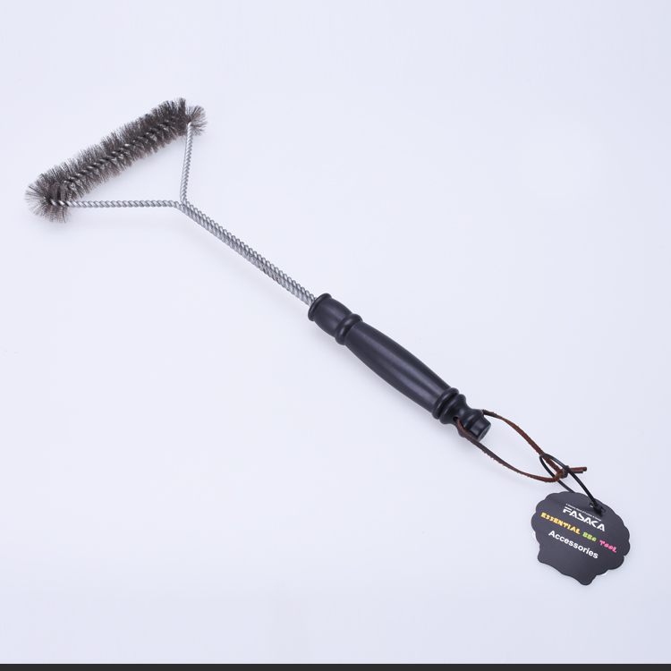 BYB0235 Heavy Duty 15 Inch Stainless Steel BBQ Grill Cleaning Brush