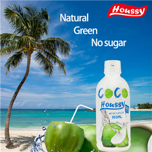 Houssy 350ml canned natural coconut water