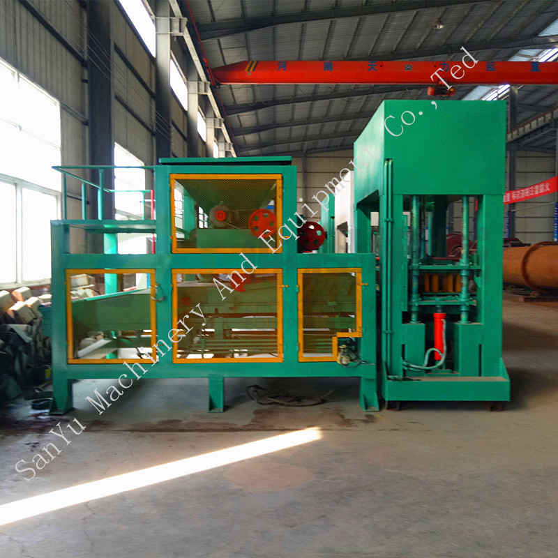 DM10 -15 Automatic hydraulic unburned brick block making machine