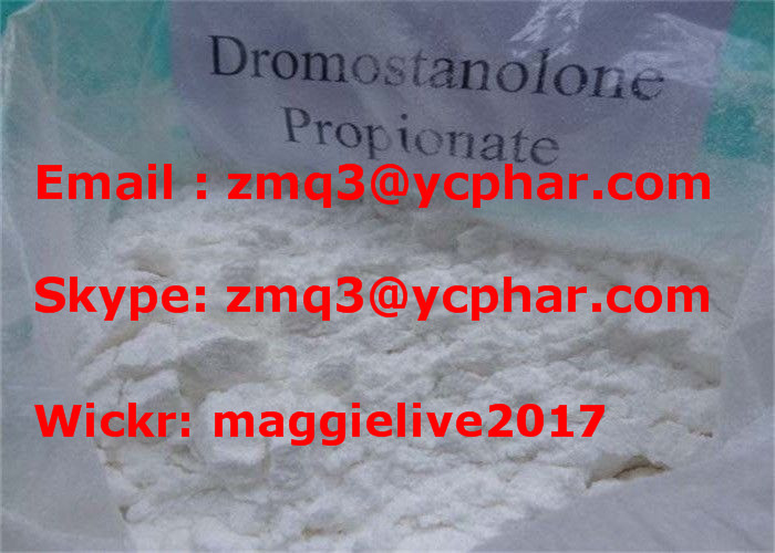 99.6% Purity Oral Androgenic Drostanolone Propionate CAS 521-12-0 for Muscle Building