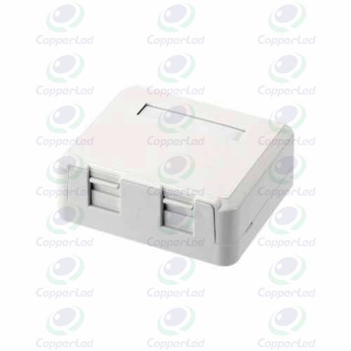 High-Impact Housing Fully tested  Easy to install design 2 Ports Surface Mount Box