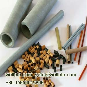 Insulation Tube Kraft Paper Tube, Vulcanized Paper Tube,fish paper tube,G10 tube Motor Shaft