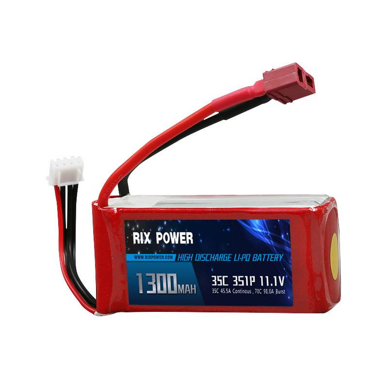 Rix Power RC Lipo Battery 1300mah 35c 3s