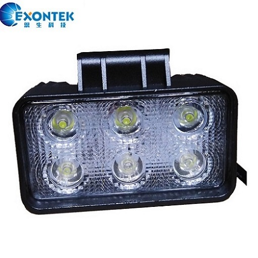 LED headlight 18W 4x4 led work light motorcycle 4WD JEEP Tractor agricultural machinery truck ATV