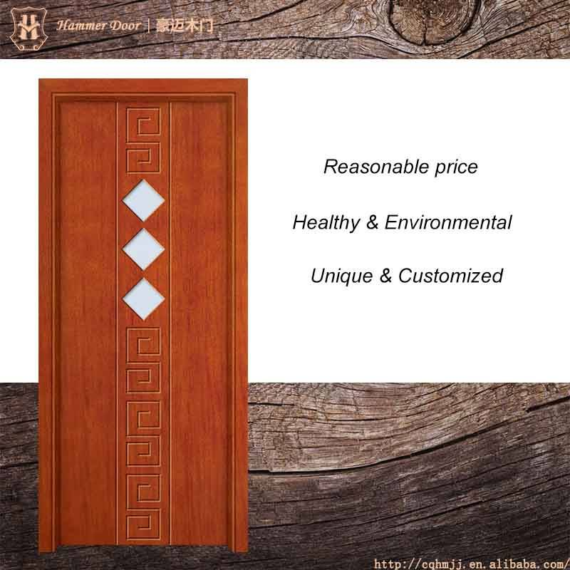 Chinese style wooden door and crush resistance for front interior door
