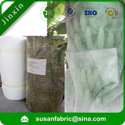 PP Spunbond nonwoven Fruit bags roll for banana bags, Biodegradable UV Treated PP Nonwoven Banana Ba