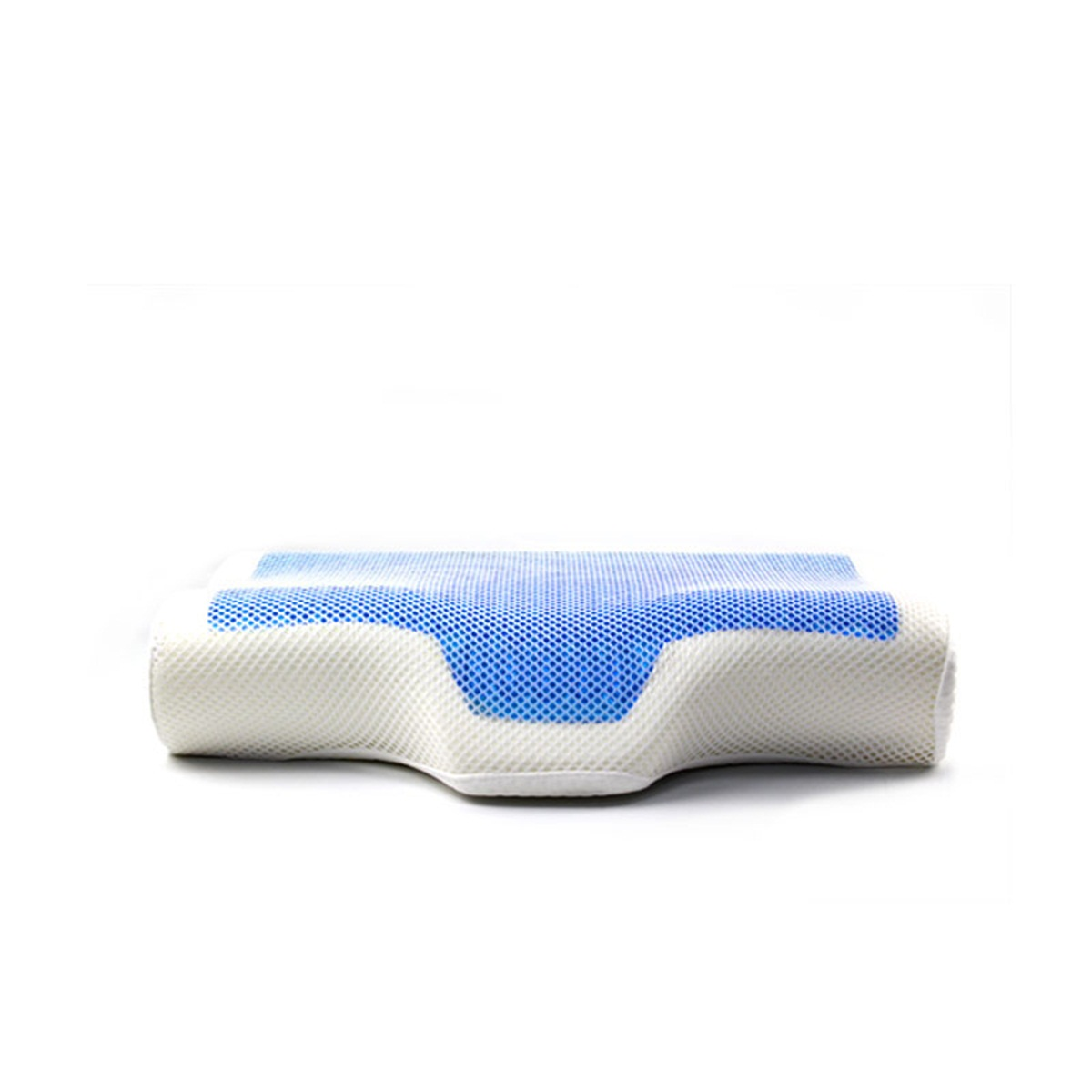 High quality manufacture very comfortable memory foam gel massage pillow for improving sleep