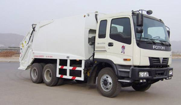 refuse collector vehicle
