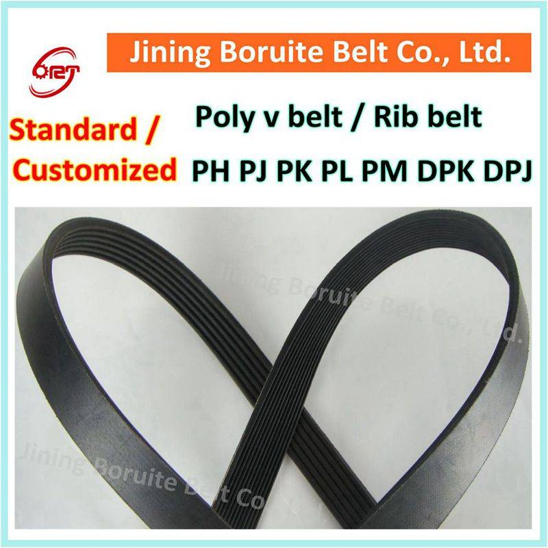 CR rubber ph pj pk pl pm dpk dpj poly v belt / rib belt