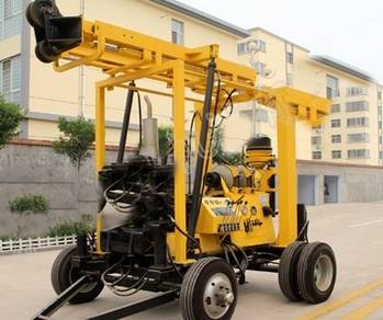 Best Selling Full Hydraulic High Efficiency XYX-3 Drilling Rig for Rock Drilling