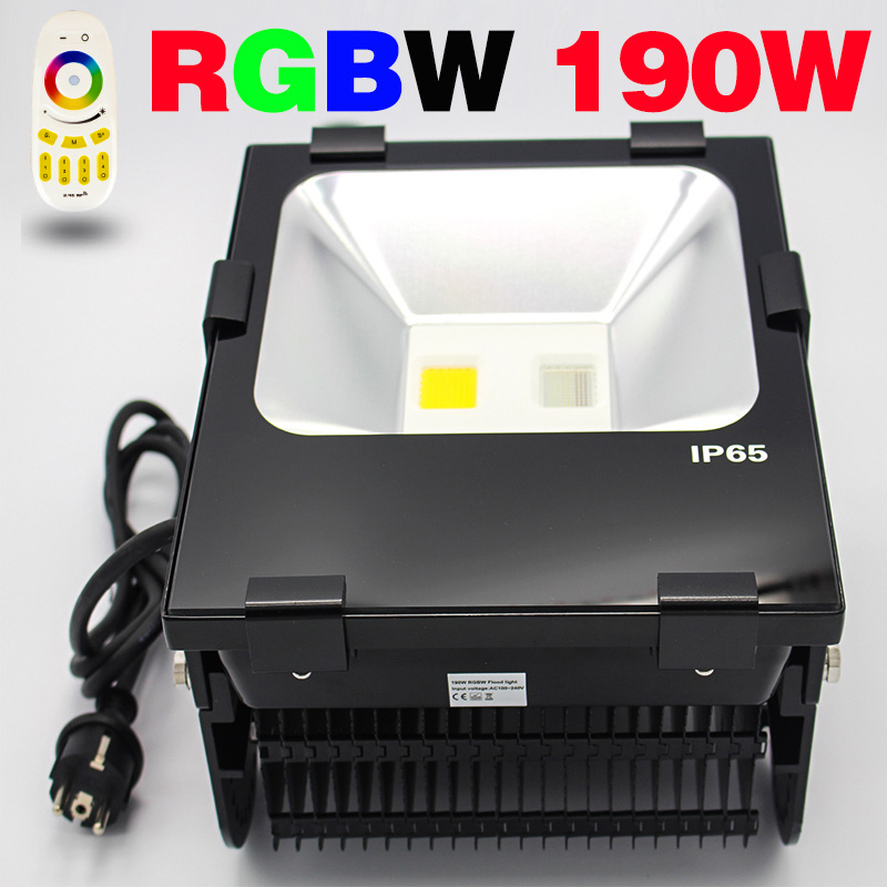 Smart wifi wall wsher dimmable led projector 190w RGBW RGB led floodlight floodlight led flood led l