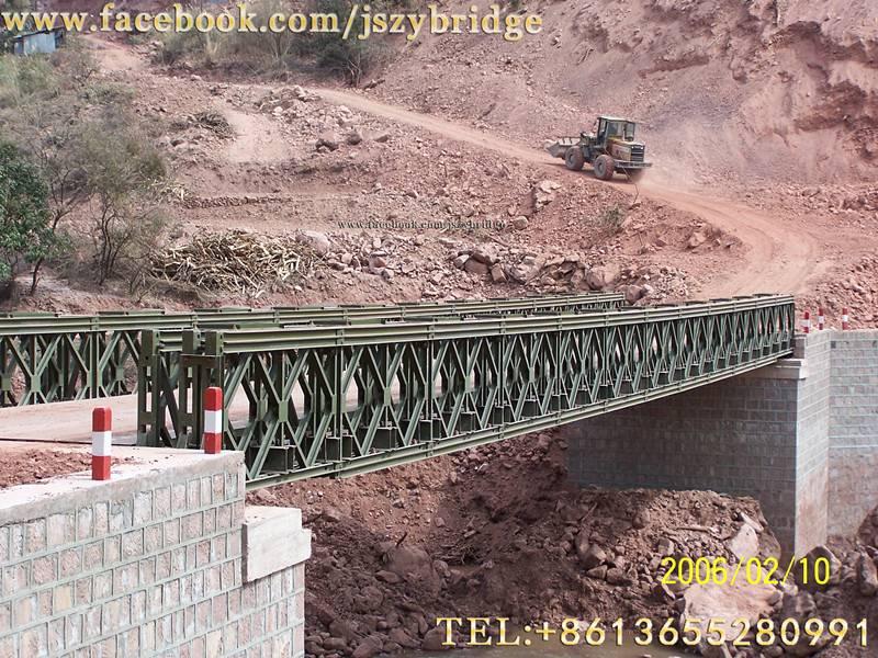 steel bailey bridge/portable bridge/compact bridge