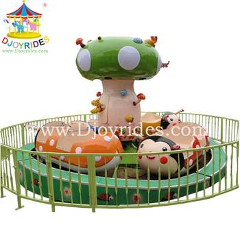 merry go round ride Lady Bug Rides