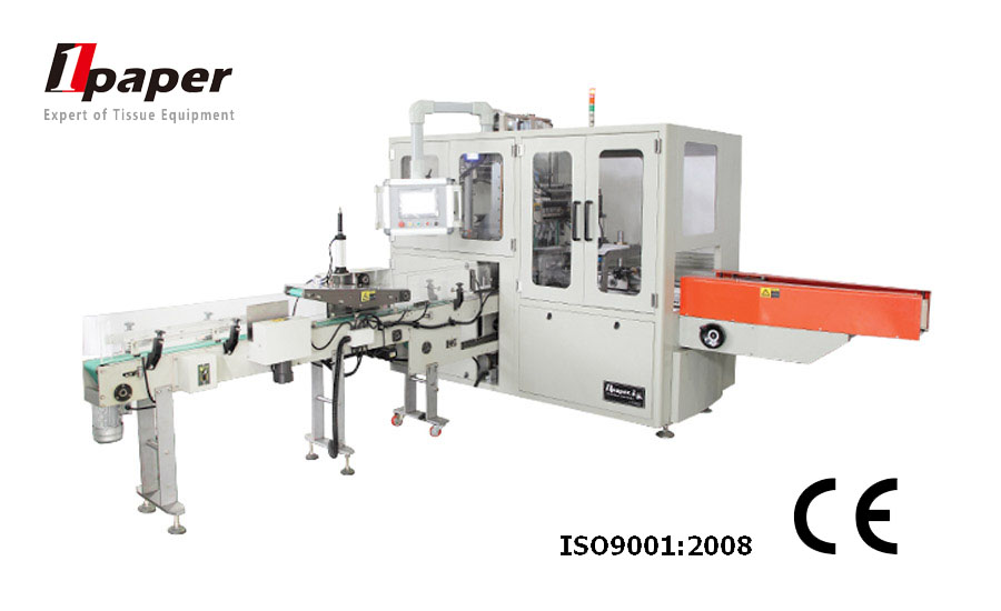 CE certification OPC automatic napkin wrapping machine with good quality