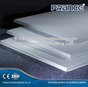Decorative aluminum ceiling panels