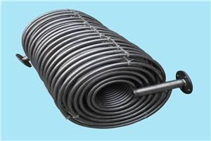 Pharmacy titanium tube evaporator