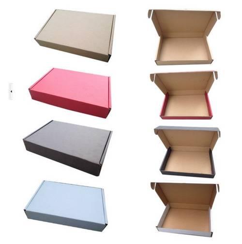 Corrugated plane box