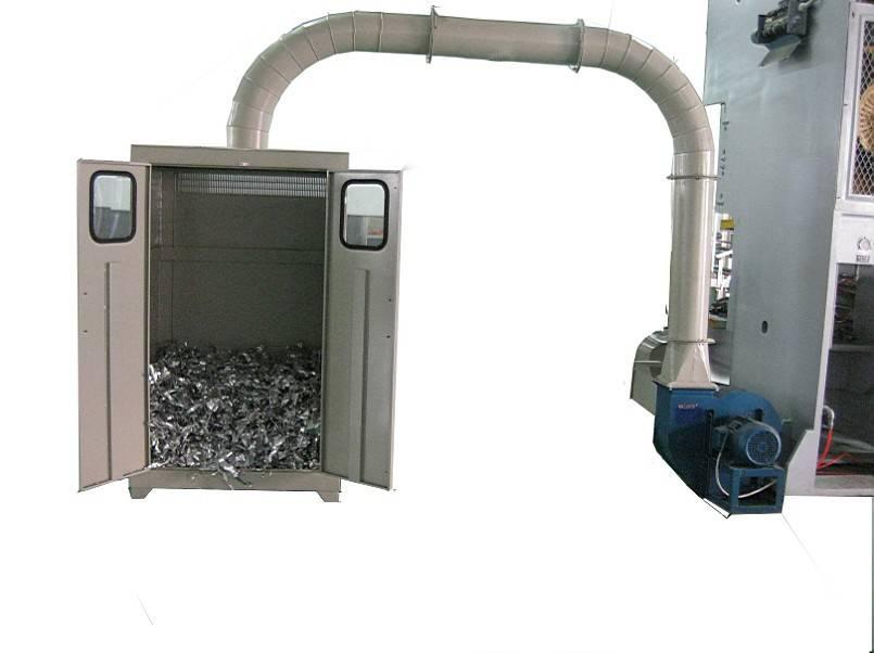 Aluminum Foil Scrap Collecting Device