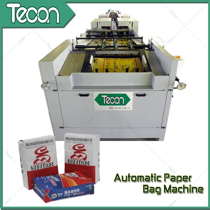CE Certification Brown Paper Karft Paper Bag Making Machinery