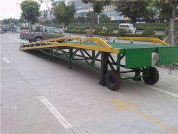 Hydraulic forklift ramp garage car ramp