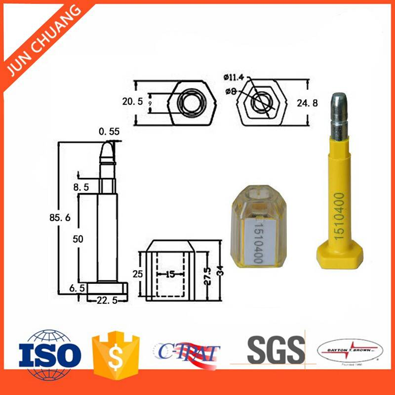 Security Shipping Container Lock Bolt Seal