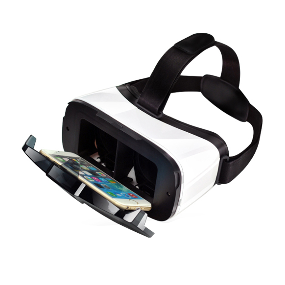 3D Vr Box Headset Glasses for 4.5 - 6.3 Smartphone