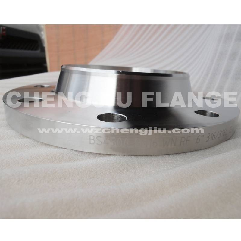 bs4504 316/316L PN16 welding neck raised face flange